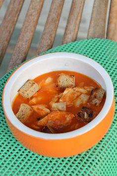 Portugál halleves recept | Rita konyhája - receptek Soups, Rezepte, Soup