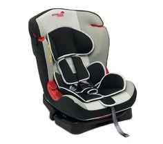 JOYELLO Столче за кола BIBIP (0-25кг.) - сребрист - MiniMod