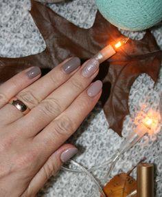 Jesienny manicure z Semilac :)