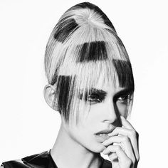 Cool shape by #kobibokshish for #hairexpo2016 #DCIeducation x