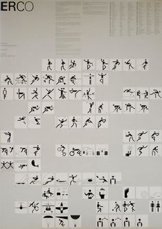 Otl Aicher pictograms