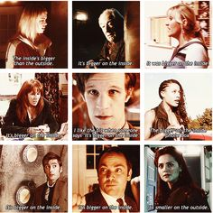 "Everyone talks about Clara's ""smaller on the outside"" thing, but Wilf and Rory both skipped the shock and awe reaction entirely, which was also cool."