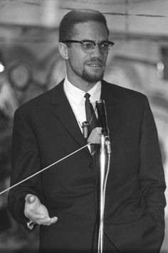 Malcolm X at the Malayan Islamic Study Group in Notting Hill, London on December… - History