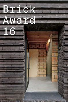 #WienerbergerBrickAward 2016 nominee 29: House VR, Belgium by lezze architecten, Belgium. The architect combined different sizes of bricks as it has a decorative effect and lends depth to the façade. Photographer: Filip Dujardin ow.ly/VKMlT