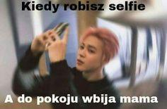 Widać po tytule co to będzie więc po co opis 😎💖 K Meme, Funny Memes, Reasons To Smile, I Love Bts, Bts Photo, Bts Members, Korean Boy Bands, Best Memes, Kpop