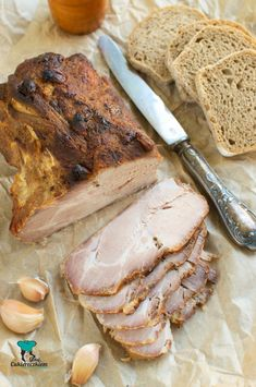 Pork Chop Sauce, Kielbasa, Polish Recipes, Christmas Cooking, Charcuterie, Sandwiches, Good Food, Food And Drink, Tasty