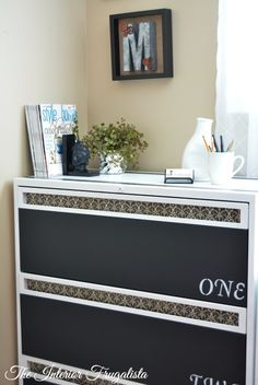 lateral metal file cabinet makeover, chalkboard paint, home office, painted furniture Home Office Space, Home Office Decor, Home Decor, Office Furniture, Cabinet Decor, Cabinet Makeover, Cabinet Ideas, Metal Storage Cabinets, Filing Cabinets