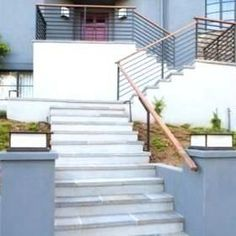 under Stairs Shoe Storage Plans Unbelievable Stone Stair Design Ideas Pictures 1... | 1000 Stone Stairs, Concrete Stairs, Shoe Storage Plans, Storage Ideas, Grey Siding, Stair Lift, Front Entry, Front Porch, Home Landscaping