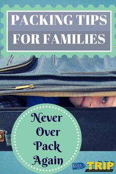 These packing tips for families will help on your next trip because packing for a trip is stressful enough, but adding kids takes it to another level. Vacation Packing, Packing Tips For Travel, Packing Lists, Travel Hacks, Vacation Ideas, Travel Ideas, Packing Tricks, Europe Packing, Traveling Europe