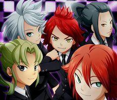 Inazuma Eleven Aliea Academy