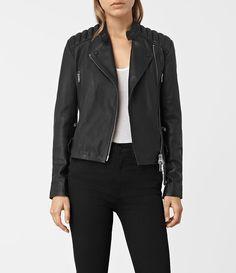 Kerr Leather Biker Jacket