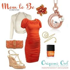 How cute is this maternity outfit!? Origami Owl lockets with and look! Fashion Friday #origamiowl #fashion #fashionfriday. http://www.angelawick.origamiowl.com Interested in becoming an Independent Designer?! Don't wait another day!