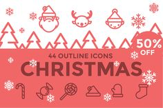 Christmas Icons / illustrations by sarunw on @creativemarket