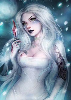 The Killer Bride, Matty Lasuire on ArtStation at https://www.artstation.com/artwork/Z9xy8 - More at https://pinterest.com/supergirlsart #female #fantasy #art