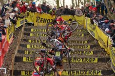 Belgian Cyclocross Championships 2015: On The Stairs