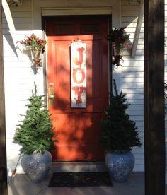 Barn Wood Christmas Sign