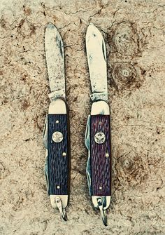 Cause who doesn't love an old scout knife?