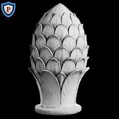 Plaster Pineapple Finial Design - High-End Plaster Ornaments ...