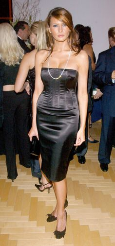 Melania Knauss during 'Trump World' Magazine Launch Party at Trump World Tower in New York, New York, United States. (Photo by J. Countess/WireImage) via @AOL_Lifestyle Read more: http://www.aol.com/article/2016/07/31/old-nude-photos-put-melania-trump-under-spotlight-she-didnt-ask/21442260/?a_dgi=aolshare_pinterest#fullscreen