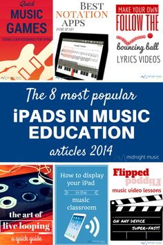 The 8 Most Popular iPads in Music Education articles 2014 | Midnight Music