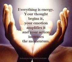 Everything is energy. Reiki teaches us to use energy for our own wellbeing and for the wellness of others. The Words, Spiritual Awakening, Spiritual Quotes, Enlightenment Quotes, Reiki Quotes, Positive Thoughts, Positive Quotes, Positive People, Negative People