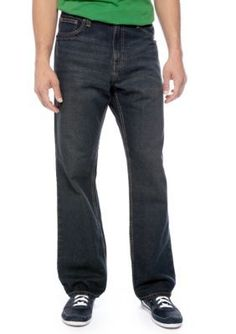 Red Camel Dark Indigo Wash Bootcut Stryker Wash Jeans