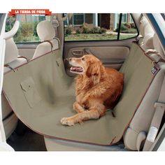 Hamaca cubre asientos impermeable para el asiento trasero del coche - SOLVIT Waterproof Hammock Seat Cover  La Tienda de frida Latiendadefrida.com Tienda de Productos para perros y mascotas