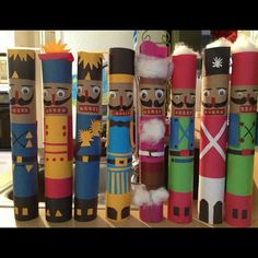 Paper Towel Roll Nutcrackers by Carol's                                                                                                                                                                                 More