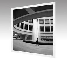 Photography Art Print Hirshhorn Museum by theARTofSQUARE on Etsy