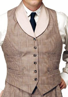 30's vest - perfect for your next vintage event !