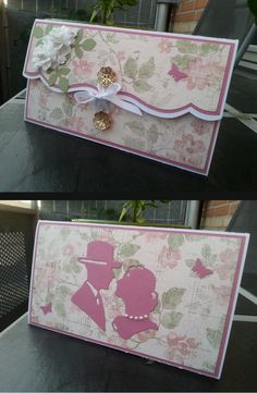 Homemade weddingcard