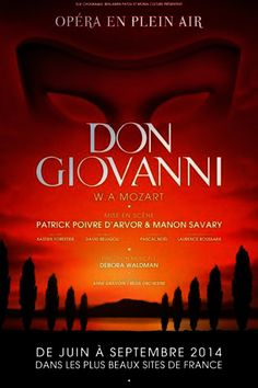 Don Giovanni, Mozart - Opera poster