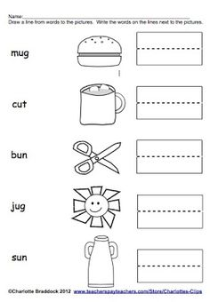 Worksheet Kindergarten Cvc Worksheets 1000 images about literacy cvc words on pinterest word families charlottes clips and kindergarten kids freebie value vowels