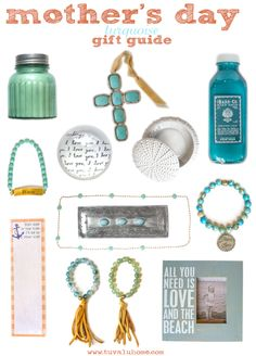 mothers day turquoise gift guide