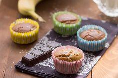 Muffins sans gluten à la banane