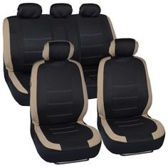 BDK Venice Series Car Seat Covers Side Air Bag Safe