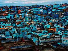 Blue City, Steve McCurry