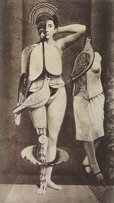 Sacred Conversation,1921 — Max Ernst.  Art Experience NYC  www.artexperiencenyc.com/social_login/?utm_source=pinterest_medium=pins_content=pinterest_pins_campaign=pinterest_initial