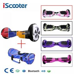 "HOT PRICES FROM ALI - Buy ""Hoverboard Bluetooth Speaker Electric Giroskuter 2 Wheel self Balance Electric scooter unicycle Standing Smart two wheel scooter"" from category ""Sports & Entertainment"" for only USD. Scooter Price, E Scooter, Cheap Electric Scooters, Two Wheel Scooter, Monocycle, Car Polish, Electric Bicycle, Cool Things To Buy, Bluetooth Speakers"