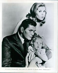 Elizabeth Montgomery,Dick York & Erin Murphy of Bewitched