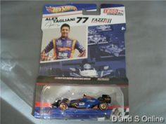 HOT WHEELS ALEX TAGLIANE #77 IZOD INDYCAR SERIES