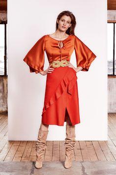 Paule Ka Pre-Fall 2019 Fashion Show Collection: See the complete Paule Ka Pre-Fall 2019 collection. Look 18 Mode Orange, Daytime Outfit, Paule Ka, Orange Fashion, Vogue Russia, Fashion Show Collection, Autumn Fashion, Womens Fashion, Fashion Trends