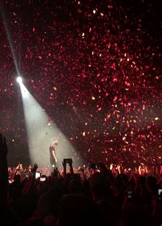 {this moment in the concert is so emotional. you love it because it's beautiful and they're all in the front, gathering for a huddle finale. but, you also hate it. you hate it because it's over. they're leaving. and you'll have to wait, for what seems like forever, for them to come back. you hate it, but you love it. simply because they're Imagine Dragons and they saved your life.}
