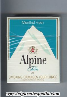alpine cigarettes logo - Google Search