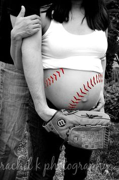 This is super cute for a family that loves baseball.. :)  this one's for you Amy!!!