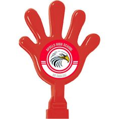 Give your school or team a hand with these custom hand clappers! They're perfect for handing out at a pep rally, game or anywhere you want to make some ...