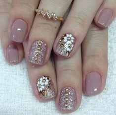 How to choose the shape of nails? - My Nails Shellac Nails, Toe Nails, Acrylic Nails, Nail Polish, Do It Yourself Nails, Gel Nail Designs, Nails Design, Fabulous Nails, Flower Nails