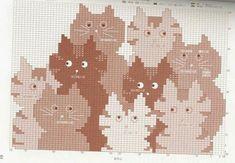 Irish crochet &: BAGS CATS