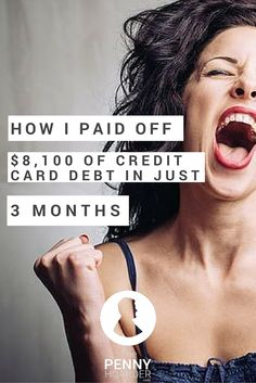 Struggling with credit card debt, one blogger decided to try an aggressive approach: She gave herself only 90 days to pay off $8,100. Here's how she did it. - The Penny Hoarder http://www.thepennyhoarder.com/how-to-pay-off-debt-fast-8100-3-months/