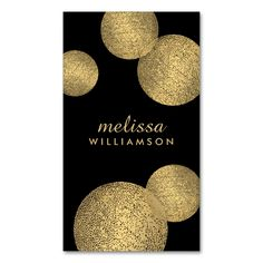 Black and Gold Glamour and Beauty II Business Card. This great business card design is available for customization. All text style, colors, sizes can be modified to fit your needs. Just click the image to learn more!